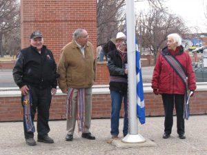 Flag Raising 2008